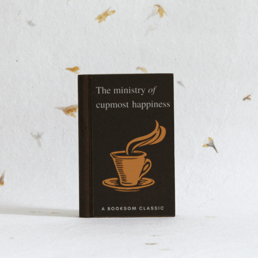 the-ministry-of-utmost-happiness-tea-coaster-wooden